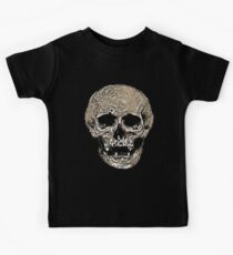 Full Skull With Rotting Flesh Vector Kids Clothes