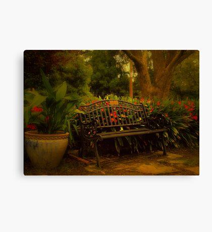 Banquette Canvas Print