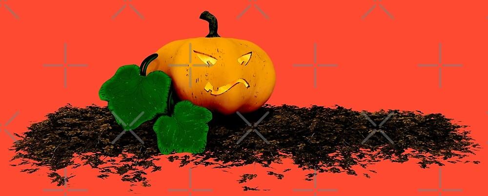 grinning halloween pumpkin by cglightNing