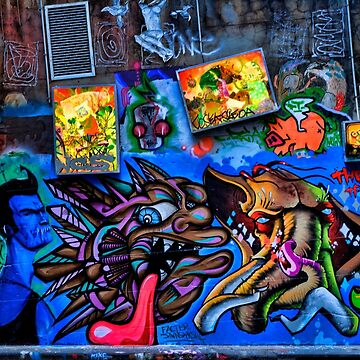 Hosier Lane 2 by Josh76