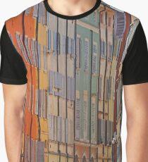 Modena - Streetscape stripes Graphic T-Shirt