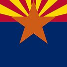Arizona Cell Phone Case by deanworld