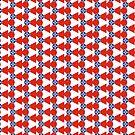Wichita Flag Duvet Cover by deanworld