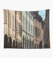 Modena - shadows, shutters and arches Wall Tapestry