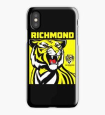 Richmond Tigers logo iPhone Case/Skin