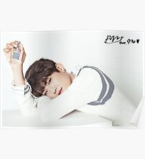 Póster Wanna One x Clean Perfume ft. Park Woojin (공원 우진)