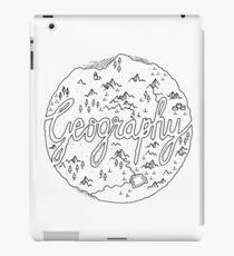 geography iPad Case/Skin