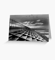 Crosby Steps Greeting Card