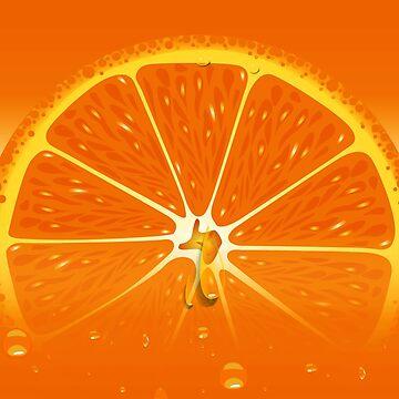 Orange Juice Juicy by CroDesign