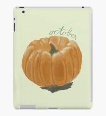 Kürbis iPad-Hülle & Klebefolie