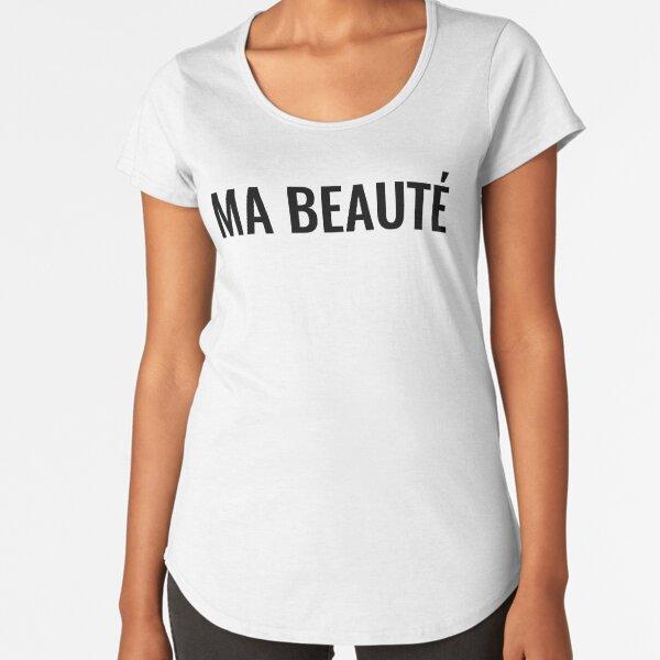 Ma beauté Premium Scoop T-Shirt
