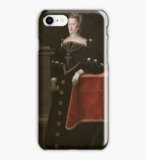 MORO, ANTONIO Utrecht, 1516 - Amberes  1576 Empress Maria of Austria, Wife of Maximilian II 1551. iPhone Case/Skin