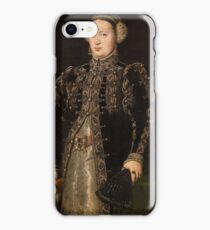 MORO, ANTONIO Utrecht, 1516 - Amberes , 1576 Catherine of Hapsburg, the Wife of King John III of Portugal 1552 - 1553 iPhone Case/Skin