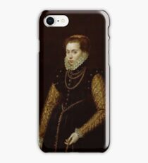 MORO, ANTONIO Utrecht, 1516 - Amberes , 1576 Lady with Gold Chains Ca. 1560 iPhone Case/Skin
