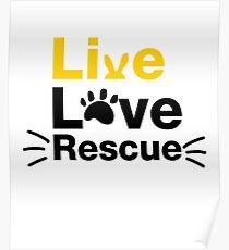 Pet Cat Dog Rescue Animals  Poster
