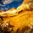 Murray River Cliff Face by Emjay01