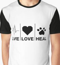 Veterinarian Gifts For Animal Lovers Graphic T-Shirt