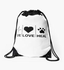 Veterinarian Gifts For Animal Lovers Drawstring Bag