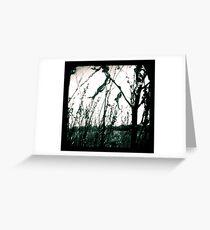 Burnt Land Greeting Card