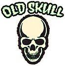 Old Skull | Retro Spooky by retroready