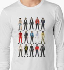 Outfits of King Jackson Pop Music Fashion Long Sleeve T-Shirt