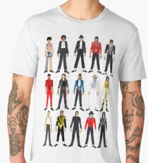 Outfits of King Jackson Pop Music Fashion Men's Premium T-Shirt