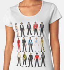 Outfits of King Jackson Pop Music Fashion Women's Premium T-Shirt