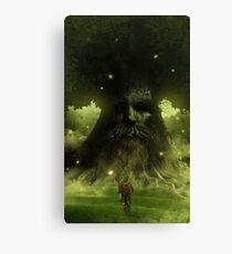 Deku tree - The legend of Zelda Canvas Print