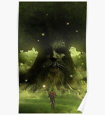 Deku tree - The legend of Zelda Poster