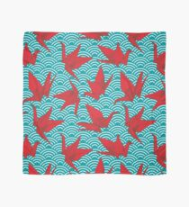 Red Origami Birds Scarf