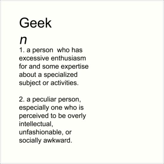 Geek | Definition of Geek by Merriam-Webster