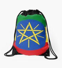 Äthiopien-Flagge - äthiopischer Aufkleber Rucksackbeutel