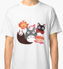 Cute chibli friends 2 Classic T-Shirt