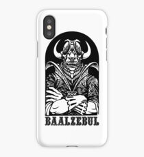 AD&D: Baalzebul iPhone Case/Skin