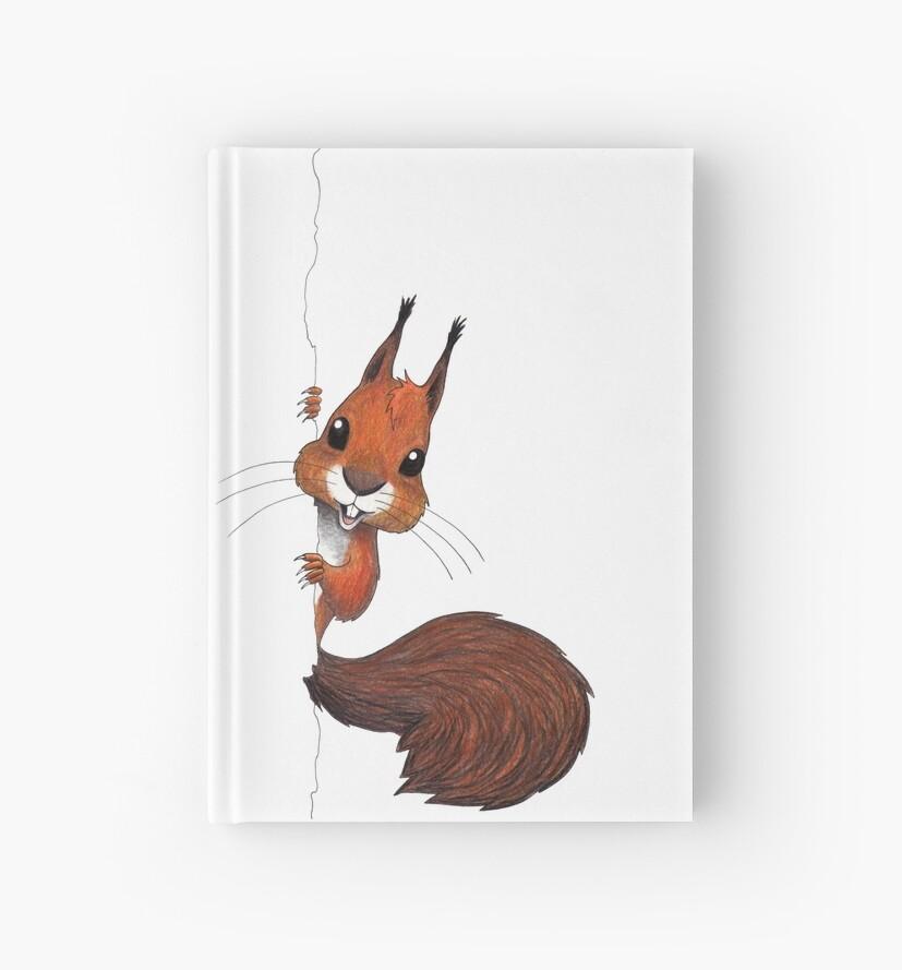 Happy Squirrel Peekaboo! by Elina Puohiniemi