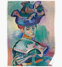 Woman with a Hat -  Henri Matisse Poster