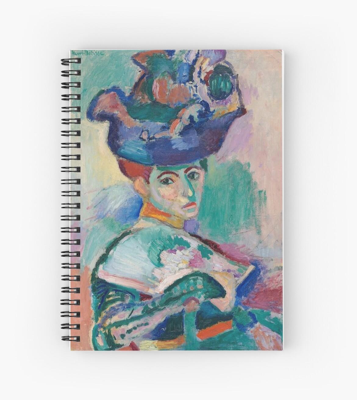 Cuadernos de espiral «Mujer con sombrero - Henri Matisse» de ...