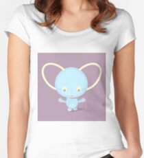 Cute character Women's Fitted Scoop T-Shirt