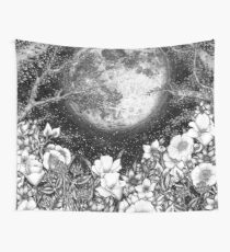 Midnight in the Garden Wall Tapestry