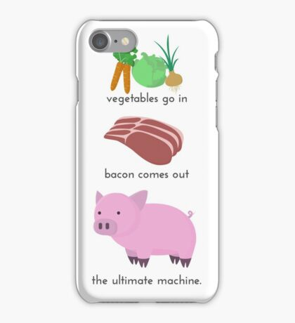 Pigs. The Ultimate Machine. iPhone Case/Skin