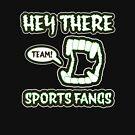 Hey There Sports Fangs | Retro Spooky by retroready