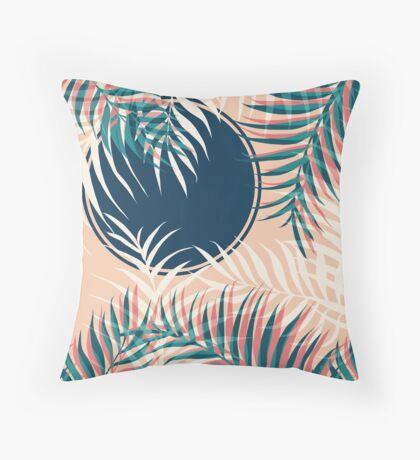 Tropical Sun #redbubble #decor #buyart Throw Pillow