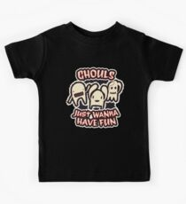 Ghouls Just Wanna Have Fun | Retro Spooky Kids Tee