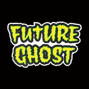 Future Ghost | Retro Spooky by retroready