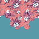 Tropical Fluo Tiles #redbubble #decor #buyart by designdn