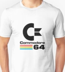 Commodore 64 Logo Merchandise Unisex T-Shirt