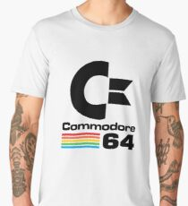 Men's Premium Commodore T-shirt - S to 3XL