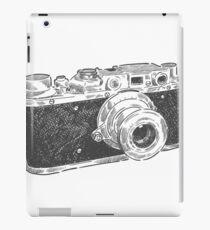 Retro photo camera vintage design iPad Case/Skin