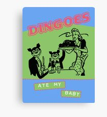 Dingoes Ate My Baby Poster Art (Buffy) Canvas Print