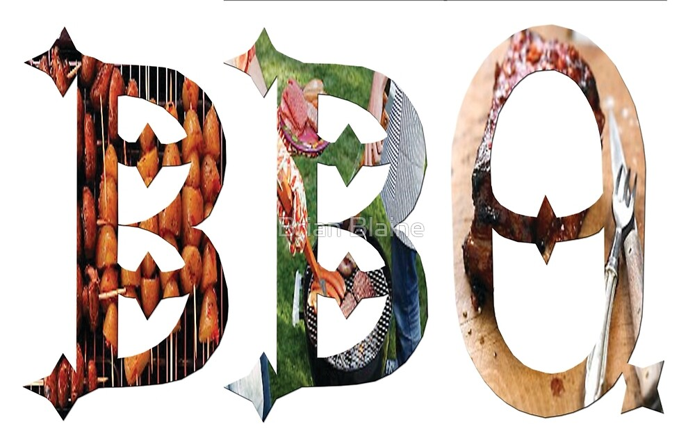 Dymond Speers BBQ by Brian Blaine